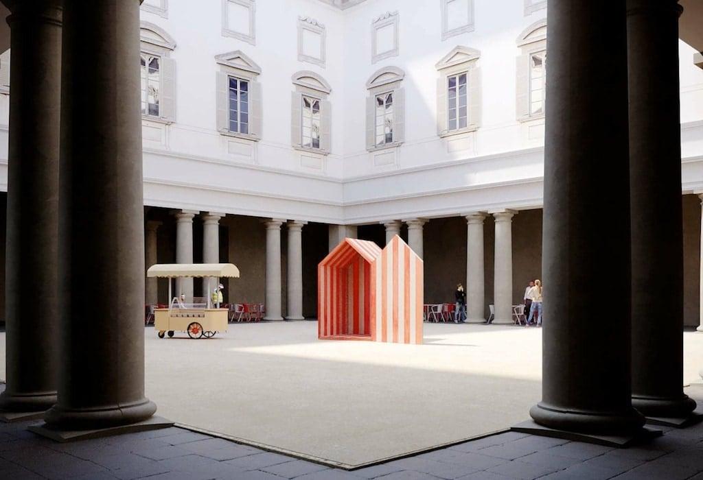 Fuorisalone 2021: Design Variations_ Una Spiaggia nel barocco by Studio Aires Mateus
