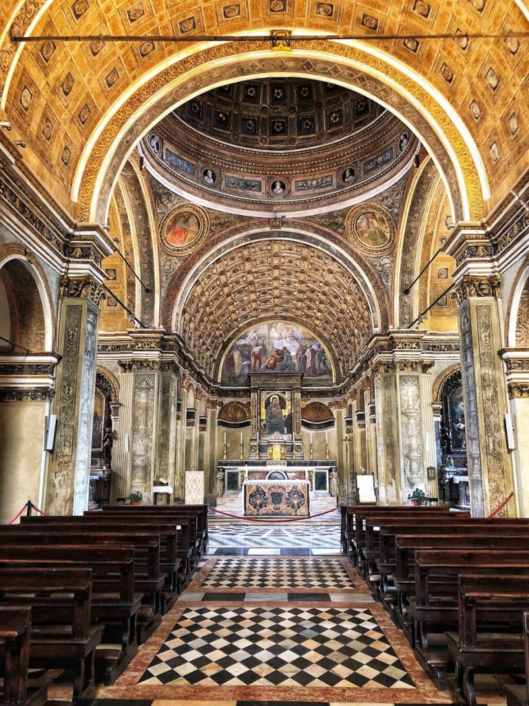 Cosa fare a Milano quando piove: Santa Maria presso San Satiro