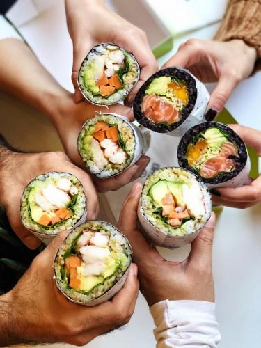 Fusho: sushi-burrito