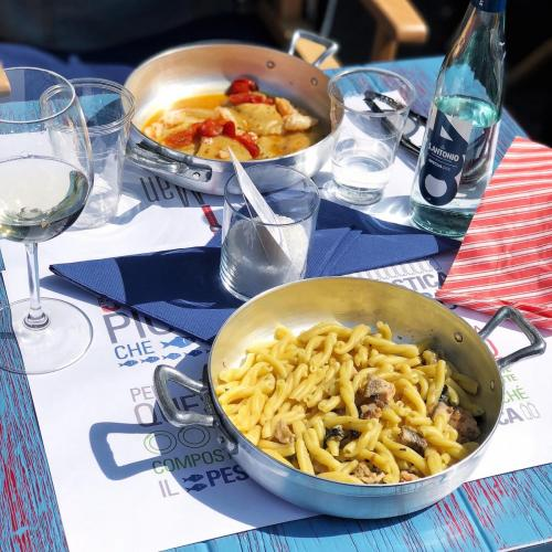 The Fisherman Pasta: pasta fresca con pesce