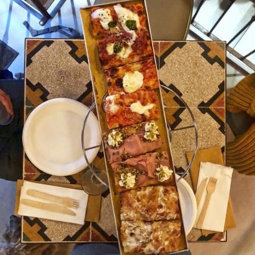 Pizzottella: pizza al taglio romana